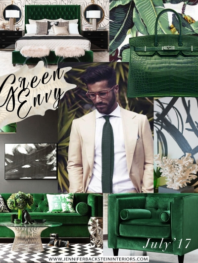 INSPIRATION: JULY '17 Green Envy