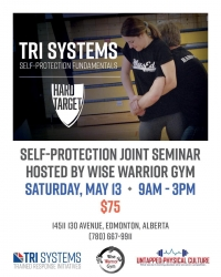 Special Self Defense Event - Saturday May 13th