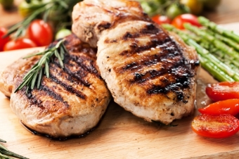 Weekend Special: Canadian, certified humane, boneless pork loin roast or chops, $3.49 a pound!