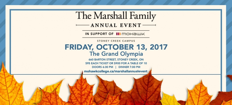Annual Marshall Benefit | October 13, 2017
