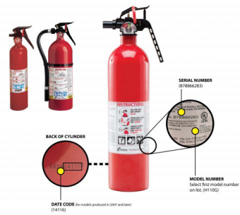 Fire Extinguisher Recall - Keep your Family and Real Estate Investments safe.