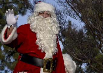 When and Where Santa's Coming to Town