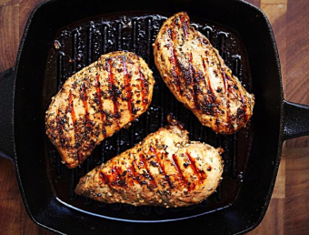 Boneless skinless chicken breast, $3.99 a pound!