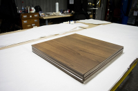 How We Sublimate Woodgrain Panels: Photo Story