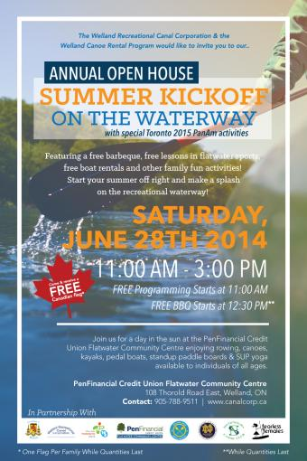 Annual Open House Summer Kickoff on the Waterway: Make a Splash!