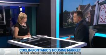 Cooling Ontario's Housing Market - CTV News Channel & Shawn Zigelstein