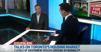Ontario's Finance Minister Announcement on Cooling the Toronto Housing Market - CTV News Channel & Shawn Zigelstein