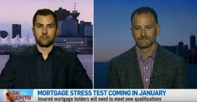 Shawn Zigelstein shares his advice, with CTV News Channel, about the new mortgage stress test rules coming into effect