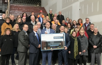 PELHAM: $1M and it's now the Meridian Community Centre