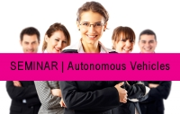 SEMINAR | Autonomous Vehicles - May 15, 2018
