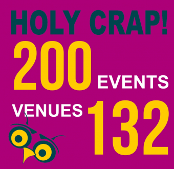 All Because I Needed A Break: 200 Events 132 Venues