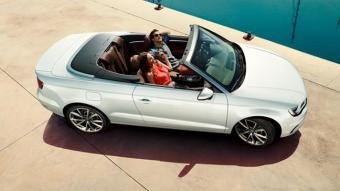 Sunshine Ready!  The A3 Cabriolet is here!