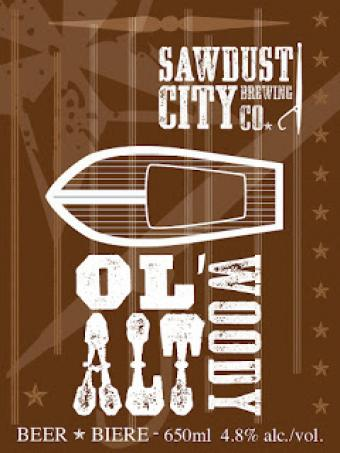 Now Pouring @sawdustcitybeer Ol' Woody Alt