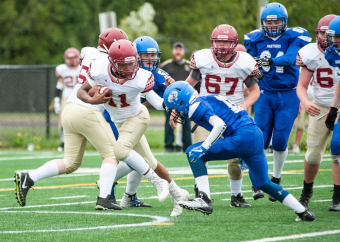Victory for Niagara Spears Senior Varsity Football