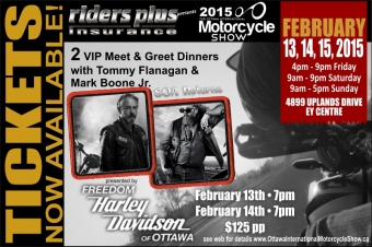 Tickets now available for #SOA VIP Meet and Greet
