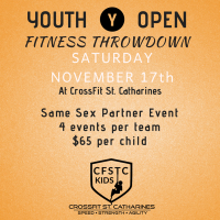 Youth Open Registration