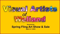 Spring Fling Art Show & Sale Announced