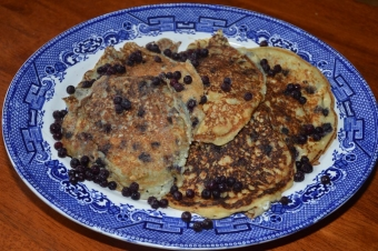 Recipe: Ricotta Blueberry Pancakes