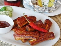 Certified humane pork backribs featured this weekend at Glenburnie Grocery for only $3.99 a pound!