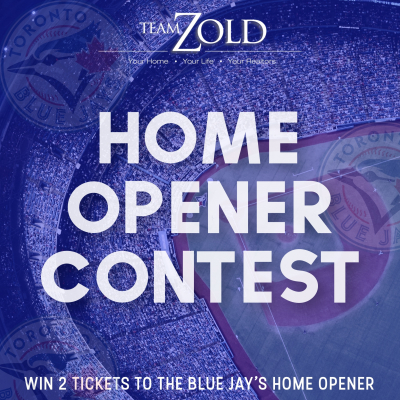 Enter For Your Chance To WIN 2 TICKETS To The 2019 Blue Jays Home Opener! The draw will take place on March 25th!