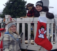 Christmas Parade Fun