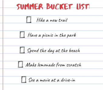 Are You Making the Most of Your Summer?