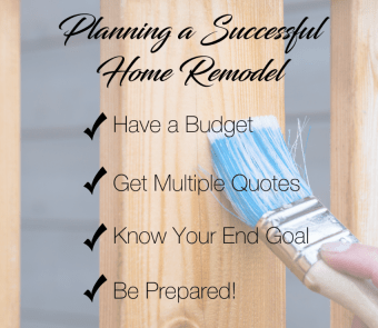 Planning a Successful Home Remodel!