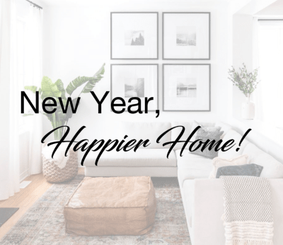 New Year's Resolutions for Your Home!
