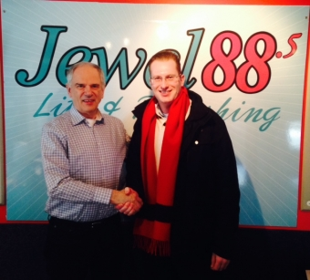 Interview on Jewel Radio 88.5 Toronto - The Burnt Ship Bay Story