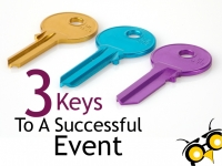 3 Keys to A Successful Event
