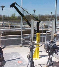 Tall Sockets with lightweight, aluminum Davits for safe lifting?