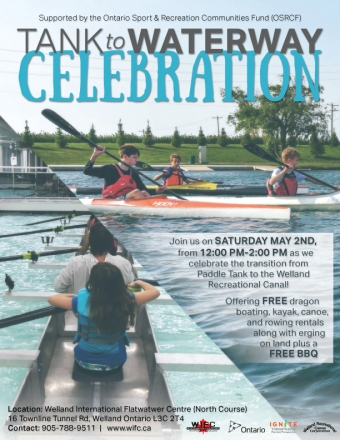 You're Invited to the Tank to Waterway Celebration