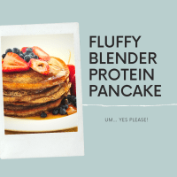 THE Fluffiest Protein Pancakes