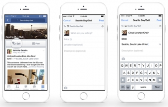 Facebook Adds Sell Feature to Groups