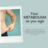Metabolism, and how it slows with age.