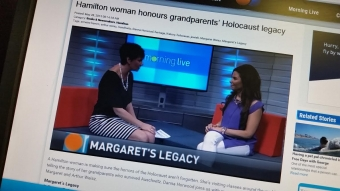 Margaret's Legacy featured on CHCH Morning Live!