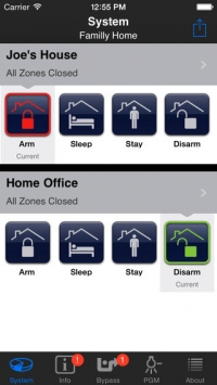 The iParadox App - Access Your Security System from Your Phone