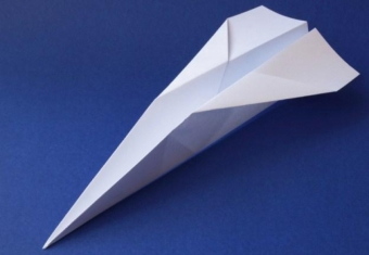 How does this paper airplane relate to conversations about changing roles and responsibilities when your loved one is living with dementia?