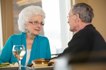 Choosing a Retirement Residence: Will the meal plan take a big bite out of your budget?: Your tip of the day.