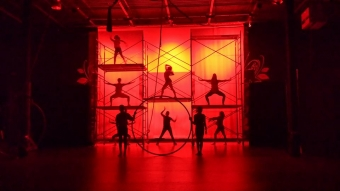 Friday brings Opening Night for our production of Circus Labyrinth