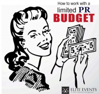 How to work with a limited PR budget