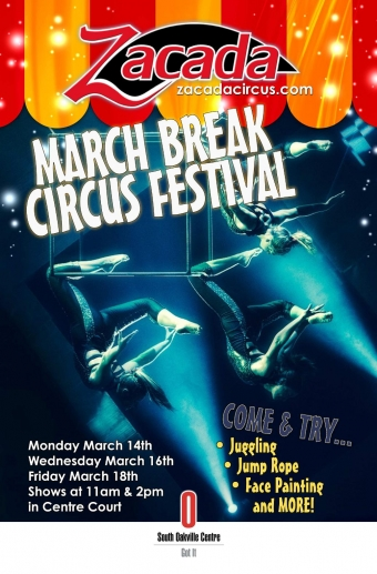 Zacada's March Break Circus Festival 2016