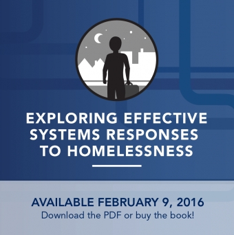 Exploring Effective Systems Responses to Homelessness - Book Release