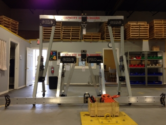 Custom Gantry Cranes Are Our Speciality