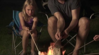 RV Tips: How to build a Campfire