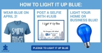 Light it Up Blue for Autism