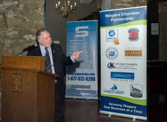 Minister McMeekin Keynote at Building Niagara Together Event