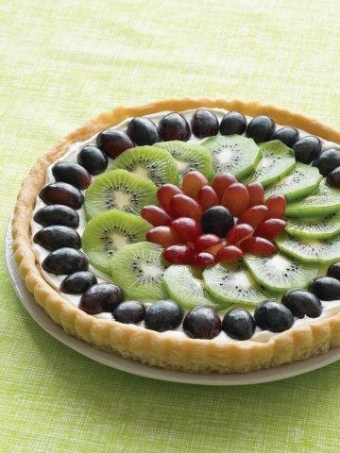Add a slice of summer fun with fresh fruit pizza
