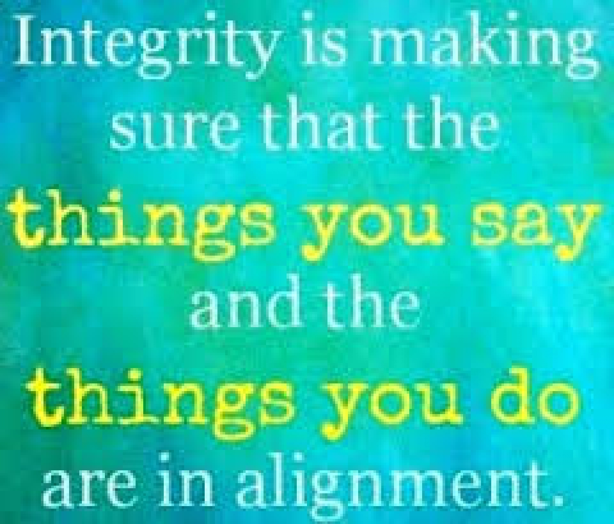 Integrity – Starting Your Comfee Living Lifestyle Means Starting With Integrity