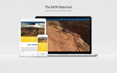 Welcome to the new Ridermel Website